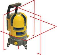 Лазерный построитель плоскости 5.2XL(кросслайнер) + приемник HR220