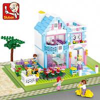 Конструктор для девочек 6 лет Sluban М38-В0535, серия Girls Dream, 539 деталек из пластика, лего-совместимый