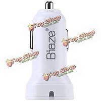 Biaze mc3 5V 3a двойной USB порт адаптера автомобильное зарядное устройство для мобильного телефона планшет