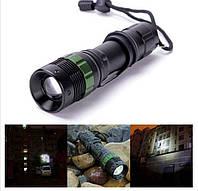 Ліхтарик світлодіодний XML Q5 LED 300 люмен дуже потужний з зумом і 3-мя режимами роботи SKU0000233, фото 1