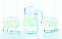 Green flakes Набор для воды - 7 пр. Luminarc L6131