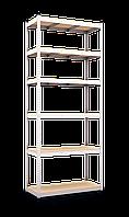 Стеллаж полочный Стандарт S212 на зацепах (2850х1200х600)