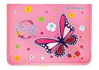 """Папка для тетрадей и дневника пластиковая на молнии """"Beauty"""", B5"""