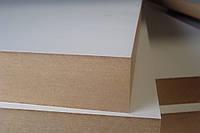МДФ ламинированная 2800х2070х16 мм белая двухсторонняя