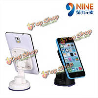 NINE 3rd GEN. Car Mounting 8 Suction Cups Phone Holder Bracket Stand For iPhone iPad Samsung GPS