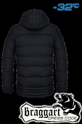 Мужская зимняя черная куртка Braggart Dress Code арт. 4719, фото 2