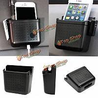 Универсальный хранения автомобиля организатор сумка телефон бумажник монетки коробки