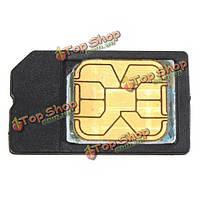 Мини микро SIM-карты в стандартный адаптер держатель для iPhone 4