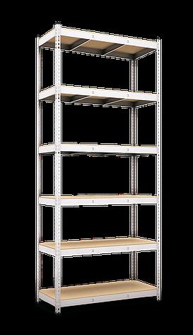 Стеллаж полочный Рембо R210 на зацепах (2900х1200х500), фото 2