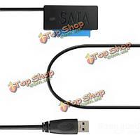 Ата 2.5-дюймов жесткий диск кабель HDD адаптер SSD SATA USB 3.0