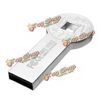 Eaget k80 флэш-накопитель USB 3.0 флэш-накопитель моды круглые старинные монеты металл водонепроницаемая