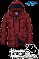 Мужская зимняя красная парка Braggart Dress Code арт. 4719