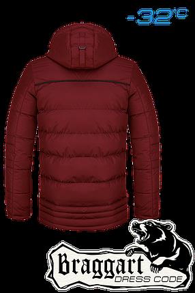 Мужская зимняя красная парка Braggart Dress Code арт. 4719, фото 2