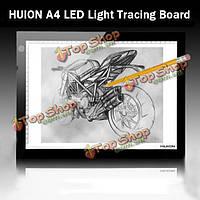 Чuion А4 LED ультратонкий световой короб чертеж трассировки эскиз столешницы