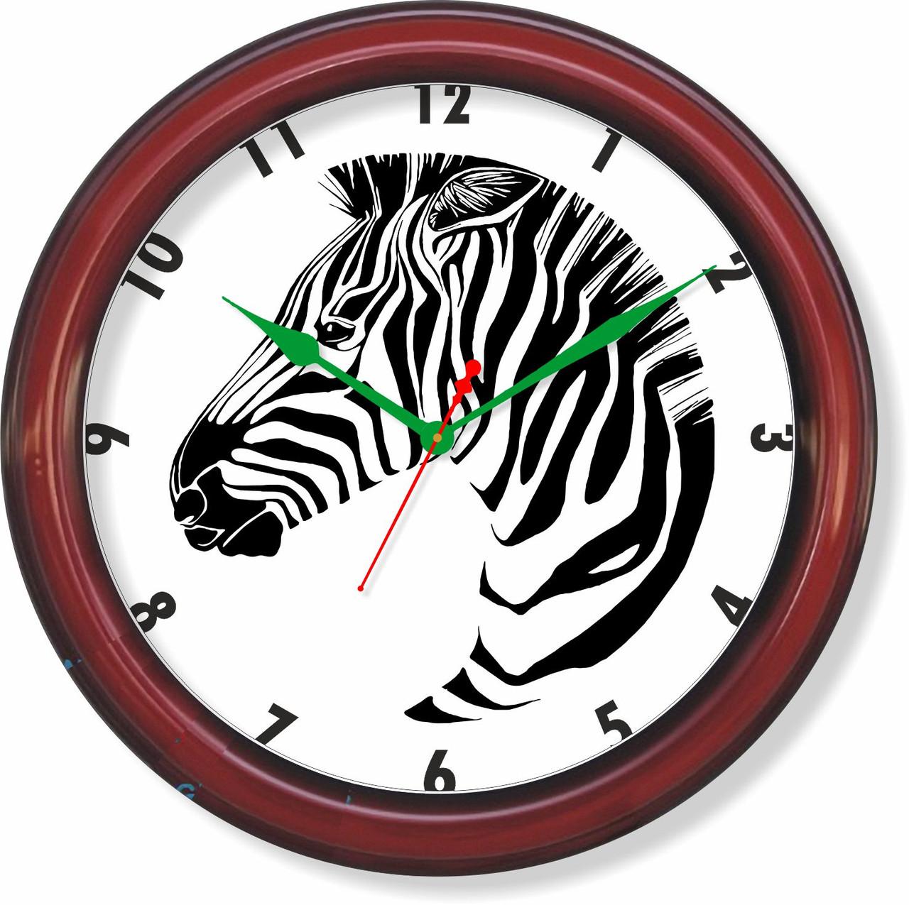 Настенные часы  Зебра
