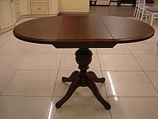 Стол обеденный   круглый   Анжелика  Fn, Орех, орех итальянский, лесной орех,, фото 3