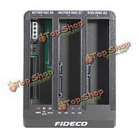 Fideco 2.5/3.5-дюймов USB3.0 HDD док язь + жесткий диск SATA отсутствует копия