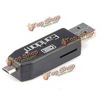 Earldom USB2.0 женский микро USB OTG адаптер мужской адаптер для мобильного телефона планшет