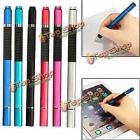2в1 емкостный сенсорный экран стилусом Шариковая ручка для планшетных телефон