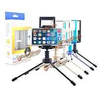 360° с возможностью поворота мини-стенд штатив держатель телефона для iPad Tablet iPhone Samsung HTC мобильный телефон