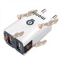 Белый двойной USB порт Автомобильное зарядное устройство для iPad mini