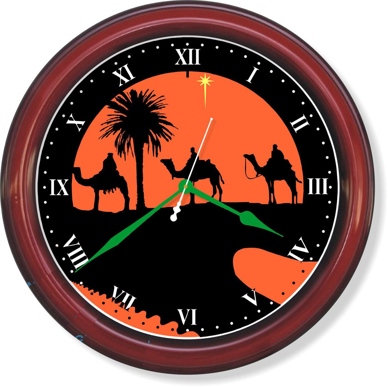 Настенные часы Ночной  караван