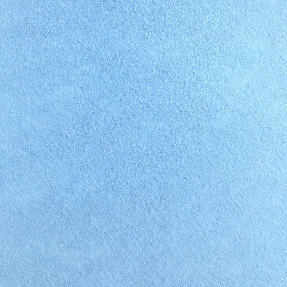 Фетр жесткий 1 мм, 20x30 см, СВЕТЛО-ГОЛУБОЙ, Китай