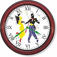 Настенные часы  Мамба