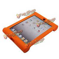 Ударопрочное анти-скольжения Fashion простой силиконовый чехол для iPad 2 3