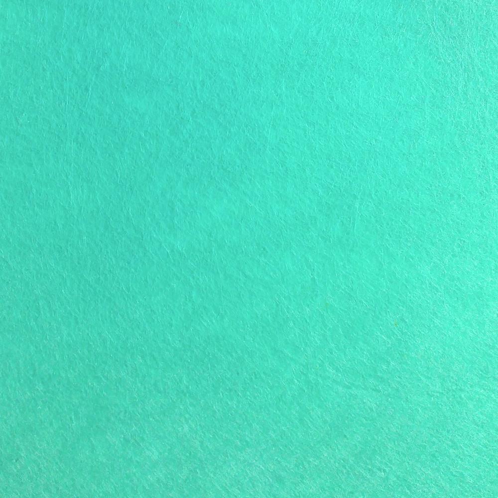 Фетр жорсткий 1 мм, 20x30 см, М'ЯТНИЙ, Китай