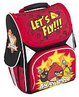 """Ранец школьный каркасный """"13,4 """","""" Angry Birds """"700""""красный"""