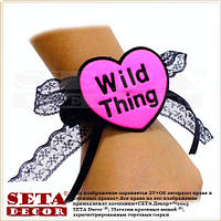 """Браслет """"Wild Thing"""" на руку (запястье) на девичник или вечеринку."""