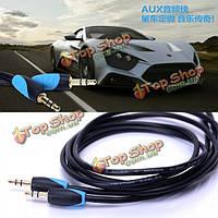 Конвенция VAB-C1 AUX 1.5 автомобиль аудио кабель 3.5мм мужчин и мужского для iPhone