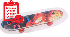 Скейт борд детский Smart Spider Man 2 (2T2023)