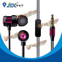 JTX jl580 супер-бас с микрофоном гарнитура наушники HANDFREE для iPhone