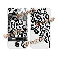 Творческие письма руки задняя передний защита для iPhone 4 и 4S