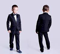 Турецкая костюмной ткань черного цвета , пиджак смокинг с подкладкой ,  (не блестящий) евла № 39996