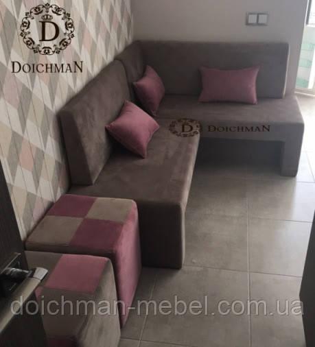 Кухонный диван DOICHMAN для столовой, кухни на заказ от производителя - Производитель мебели DOICHMAN furniture (Дойчман мебель), филиал мебельной фирмы Польша в Киеве