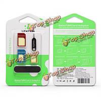 Lention SIM-карты адаптера Стандарт nano микро sim карта для смартфона iPhone