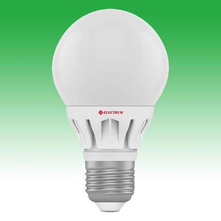 Светодиодная лампа LED 6W 4000K E27 ELECTRUM LG-8 (A-LG-0557), фото 2