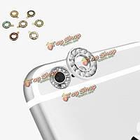 Crystal камера заднего вида металла линзы защитное кольцо круг крышка для iPhone 6 Plus 6s плюс