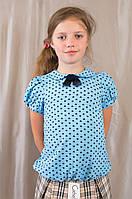 Модная нарядная красивая блуза для девочки в школу, р. 134 140 146 152