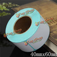 Возможно уложить 400 штук 40x60mm печати этикеток штрих-кода термальный клей бумажный стикер