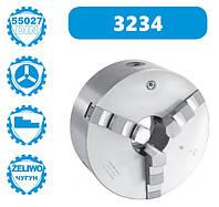 Патрон токарный 3-х кулачковый 3234-250-6-СТ Bison-Bial DIN 55027