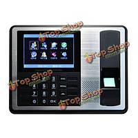 A7 4.3-дюймов TFT ЖК-отпечатков пальцев посещаемости биометрического машина