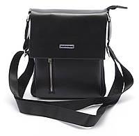 Красивая черная мужская сумка POLO art. 8928-2, фото 1