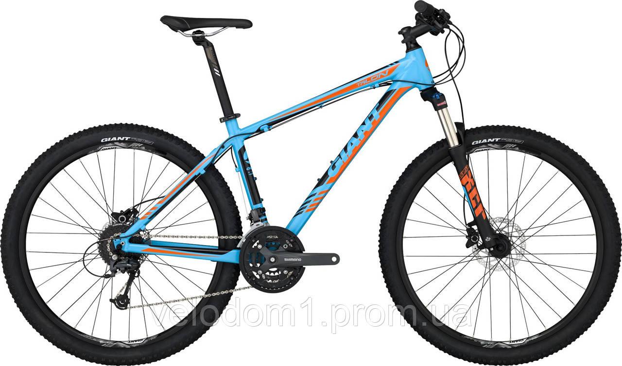 """Велосипед Giant 27,5"""" TALON  3 LTD сине-чрн (M-L 2015)"""