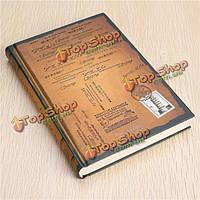 Классический марочные ноутбук пустой дневник книги писателя путешествия журнал бумаги в твердом переплете