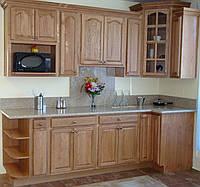 Кухня из массива дуба 009