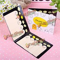 200 страниц различных мило выражение пальцы памятки Sticky Notes